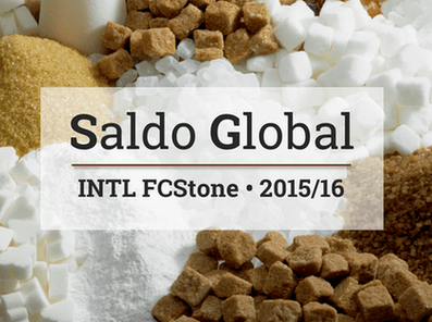 Safra global de açúcar 2015/16 deve ter déficit pela primeira vez em cinco anos