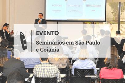 Eventos organizados pela INTL FCStone  reúnem 100 pessoas em São Paulo e Goiânia