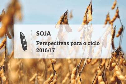 Ameaça à expansão da soja na safra 2016/17 vem de incertezas políticas e econômicas