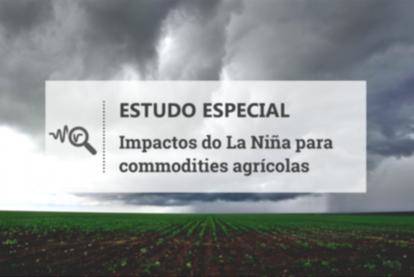 No Brasil, La Niña teria efeito reduzido sobre as commodities agrícolas