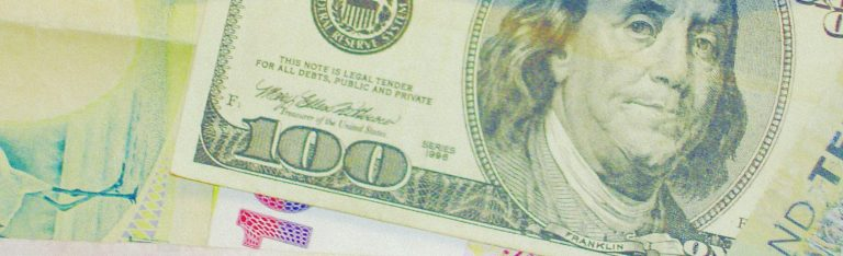 Otimismo com economia mundial mantém tendência de queda do dólar