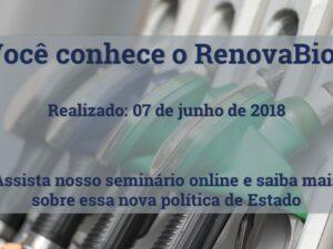 RenovaBio: perspectivas, desafios e oportunidades