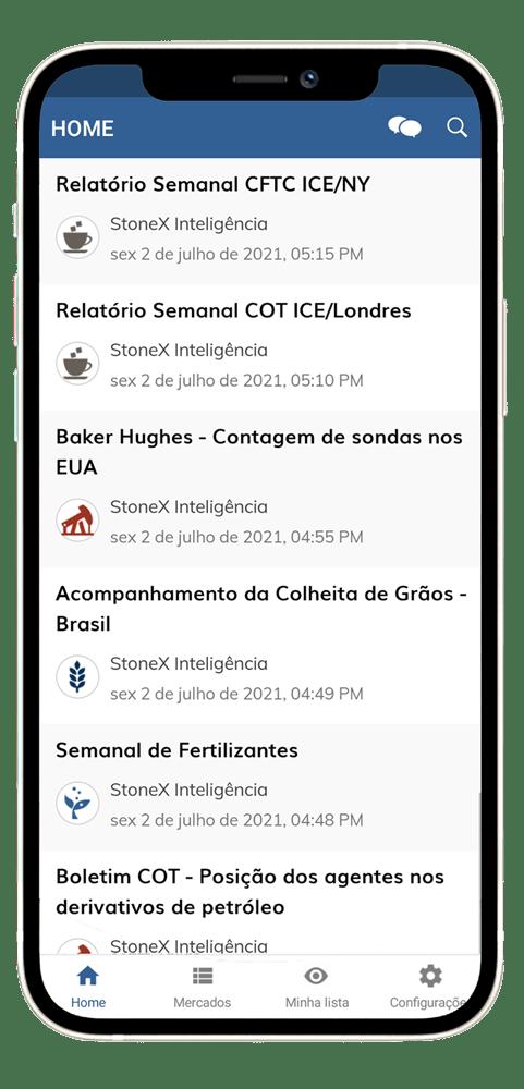 App StoneX - Iphone 12